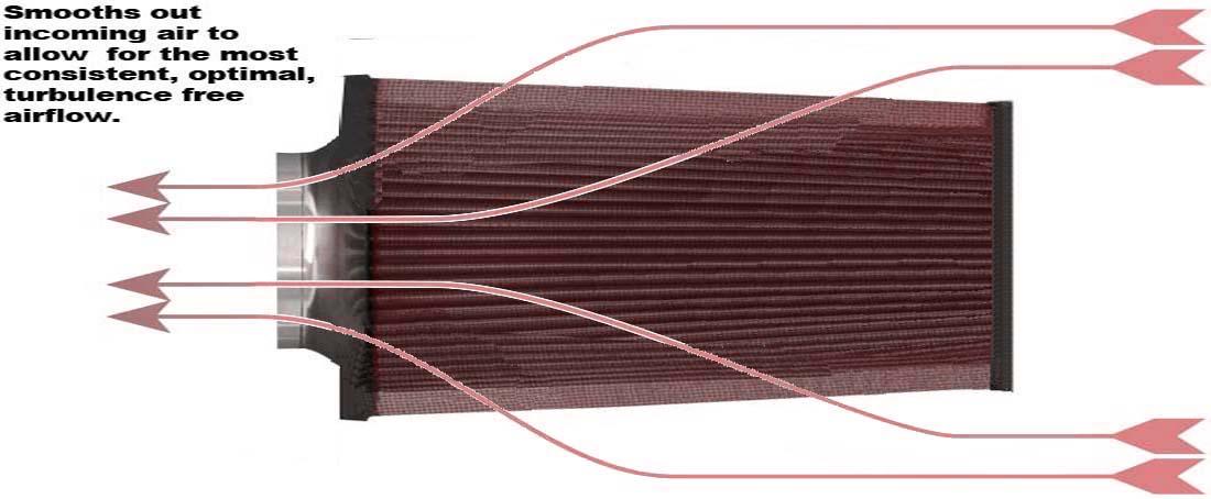 20092014 DODGE RAM 1500 2500 3500 57L V8 HEMI COLD AIR    INTAKE    KIT Black Red   eBay