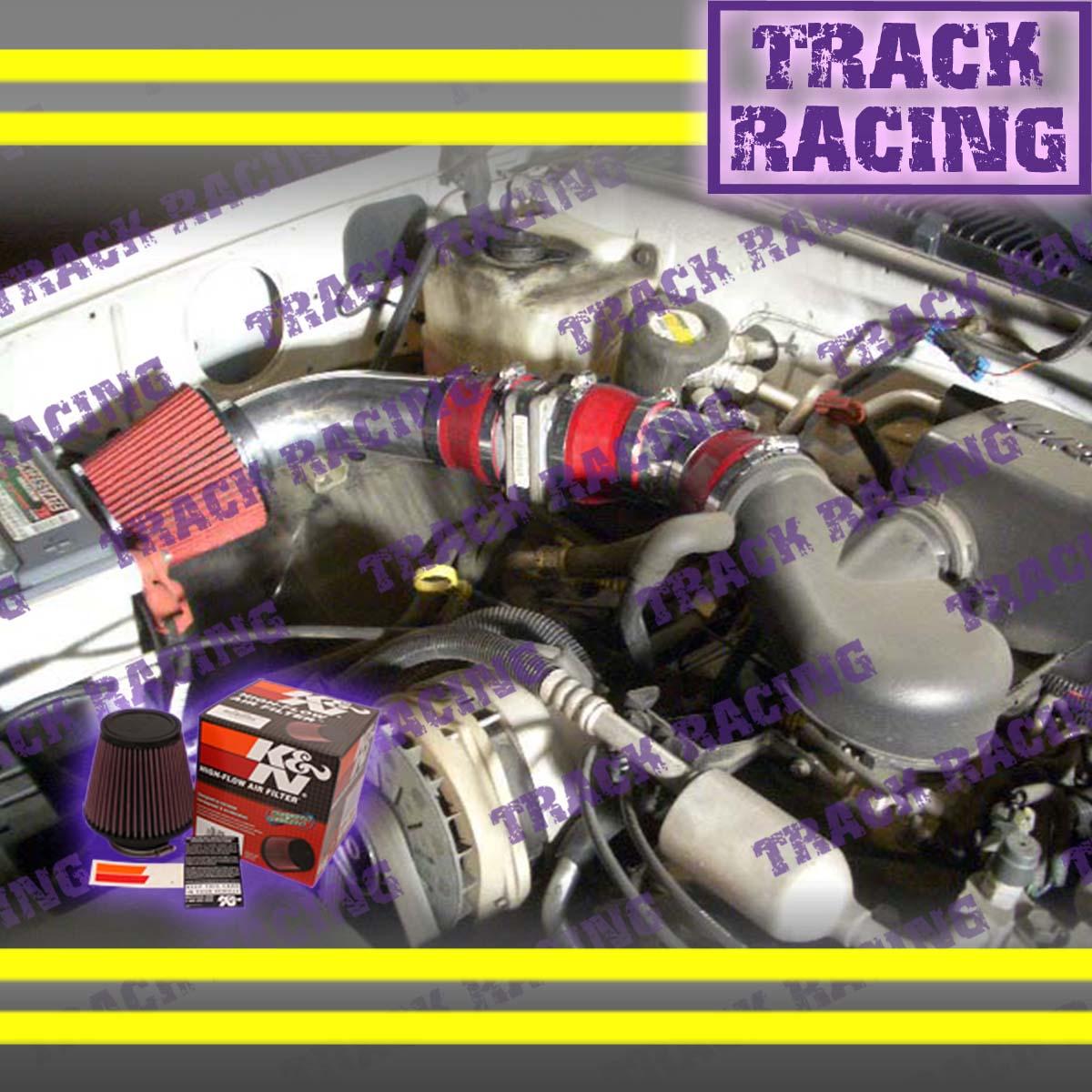 CF RED 96-00 GMC//CHEVY//CADILLAC SUV//TRUCK 5.0 5.0L//5.7 5.7L V8 AIR INTAKE KIT 2P