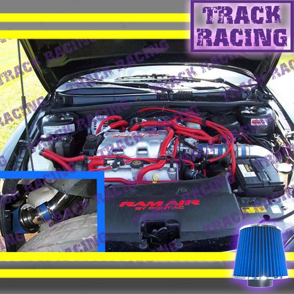 K/&N+RED 04-08 PONTIAC GRAND PRIX GT GT1//2 GTP GXP 3.8L V6  5.3L V8 AIR INTAKE TB